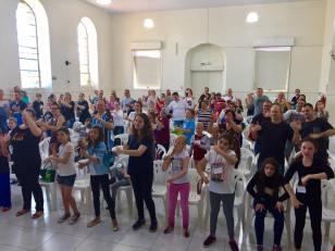 Programação para Crianças, realizada durante o Passadia do Culto Infantil em Ivoti/RS