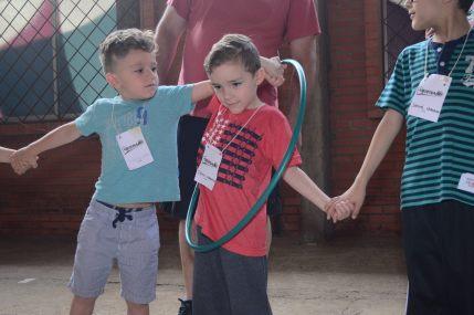 Programação para Crianças, realizada durante a Abienal - Encontro das Alianças Bíblicas em Sapiranga/RS