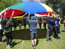 Atividade para Adolescentes, realizada durante o Retiro da Jumpec em Pelotas/RS