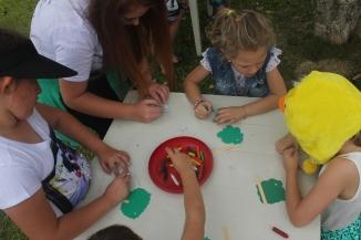 Retiro para Crianças, realizado em Águas Mornas para a Comunidade de Rio Antinhas/SC